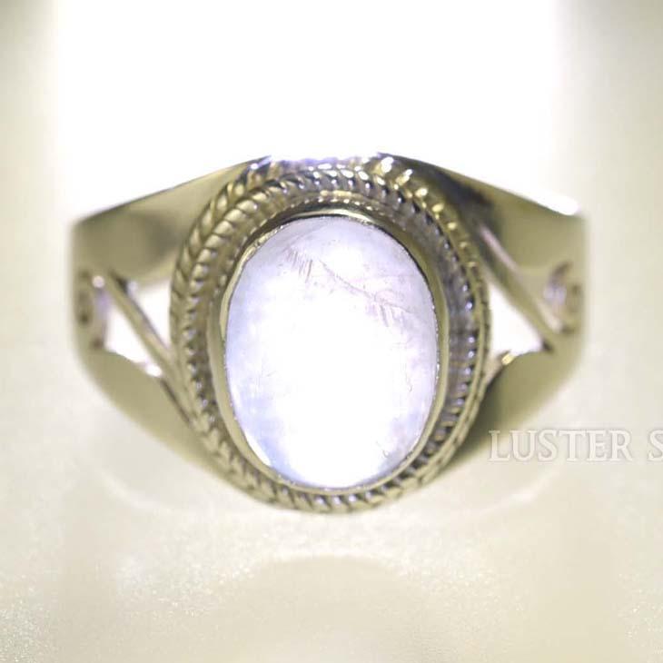ブルームーンストーン リング 指輪 天然石 パワーストーン