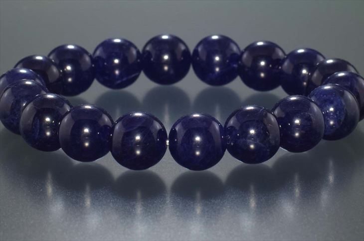 パワーストーン 天然石 ブレスレット 希少 ソーダライト 12mm