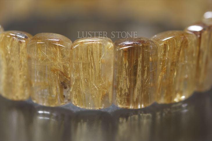 パワーストーン 天然石 ブレスレット タイチンルチルクォーツ バングル