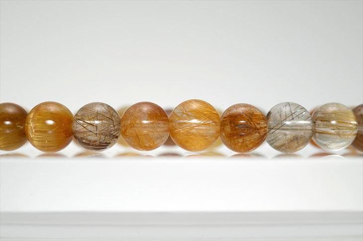 パワーストーン 天然石 ブレスレット ミックスルチル 8mm