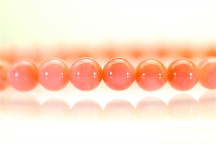 パワーストーン 天然石 ブレスレット ピンクオパール 6mm