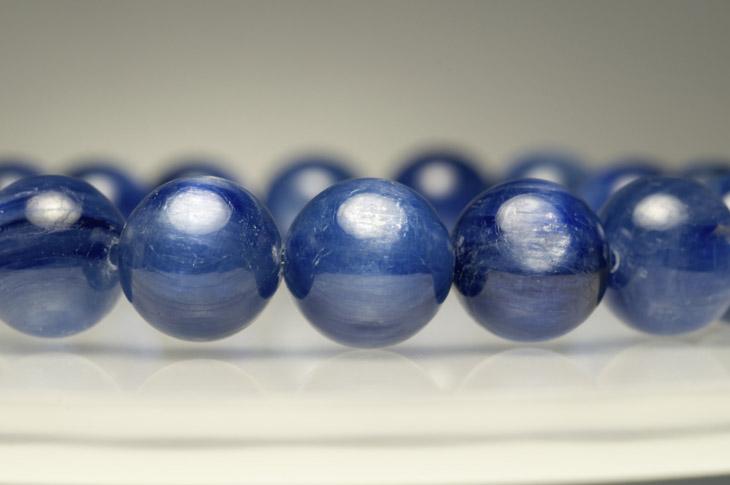 パワーストーン 天然石 ブレスレットカイヤナイト 10mm