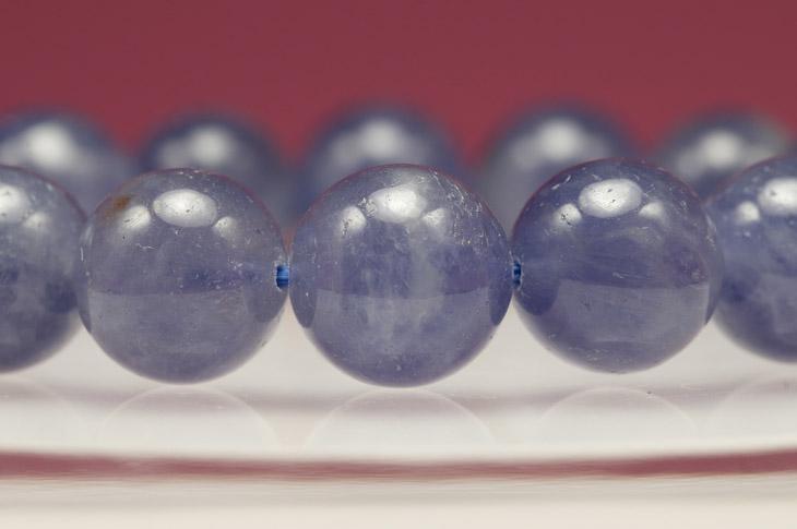 パワーストーン 天然石 ブレスレット アイオライト 12.5mm