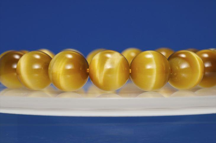 パワーストーン 天然石 ブレスレット ゴールデンタイガーアイ 12mm