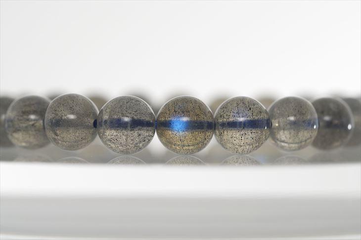 パワーストーン 天然石 ブレスレット ラブラドライト 9mm