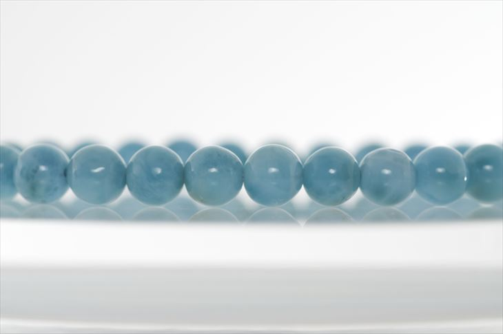 パワーストーン 天然石 ブレスレット ラリマー 6.5mm 5Aハイグレード