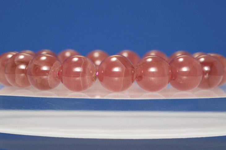 パワーストーン 天然石 ブレスレット インカローズ 10mm 高品質