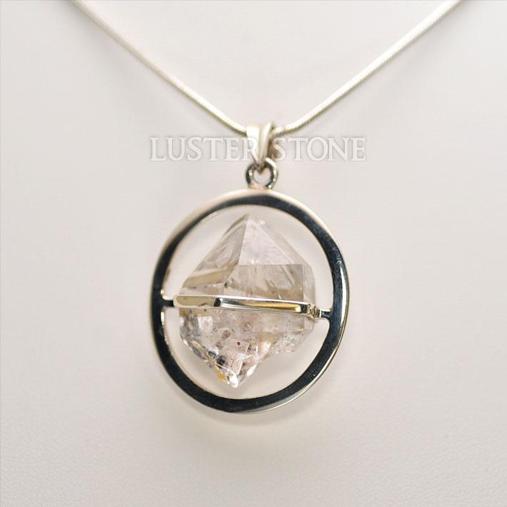 ハーキマーダイヤモンド ペンダントトップ ネックレス 天然石 パワーストーン