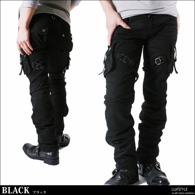 LUX STYLE | Rakuten Global Market: Cargo pant men belt tight ...