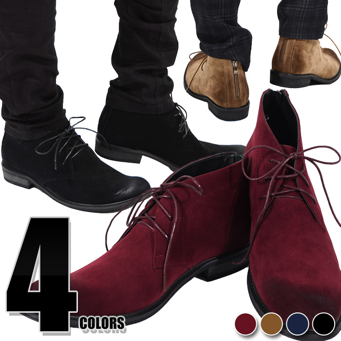 Boots Men Boots Chukka Boots Suede Boots Bootie Race Up Boots Back Zip Nubuck Suede Velour Casual Clothes Dressy Fashion Of Boots Men Shoes Older
