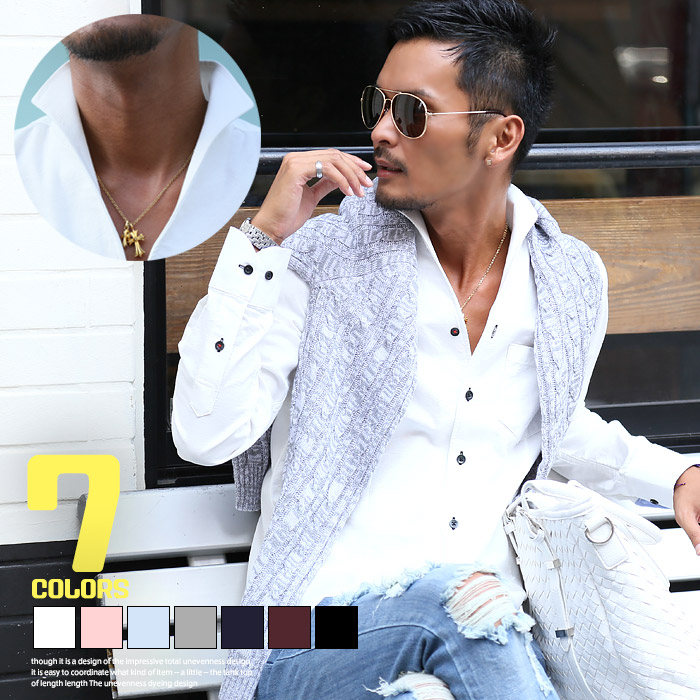 c96023aec47 BITTER shirt mens Italian color tops long sleeves white white shirt Oxford  casual shirts dress shirt cotton cotton plain inner suit casual beautiful  order ...