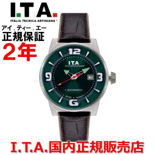 【国内正規品】I.T.A アイ・ティー・エー メンズ 腕時計 ウォッチ L'AUTOMATICO オートマティコ 26.00.02
