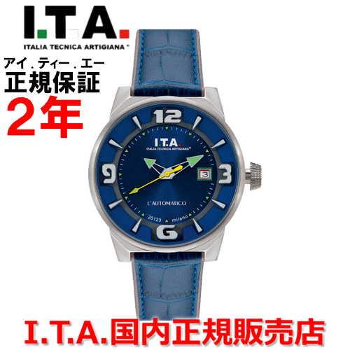 【国内正規品】I.T.A アイ・ティー・エー メンズ 腕時計 ウォッチ L'AUTOMATICO オートマティコ 26.00.03