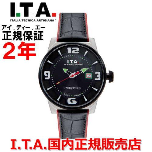 【国内正規品】I.T.A アイ・ティー・エー メンズ 腕時計 ウォッチ L'AUTOMATICO オートマティコ 26.00.04