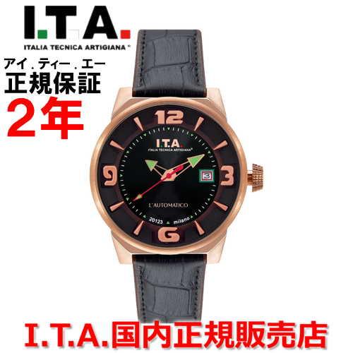 【国内正規品】I.T.A アイ・ティー・エー メンズ 腕時計 ウォッチ L'AUTOMATICO オートマティコ 26.00.05