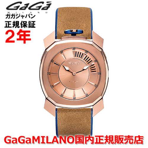【国内正規品】GaGa MILANO ガガミラノ クオーツ 腕時計 ウォッチ メンズ FRAME_ONE フレームワン 44MM 7051.01