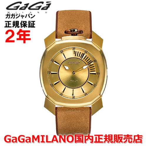 【国内正規品】GaGa MILANO ガガミラノ クオーツ 腕時計 ウォッチ メンズ FRAME_ONE フレームワン 44MM 7058.01