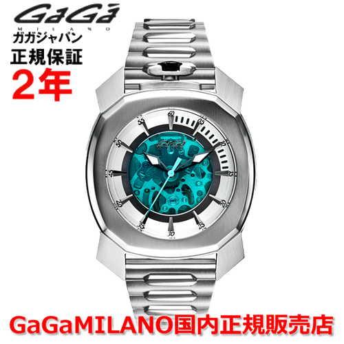 【国内正規品】GaGa MILANO ガガミラノ 自動巻 腕時計 ウォッチ メンズ FRAME_ONE フレームワン 44MM スケルトン 7070.01