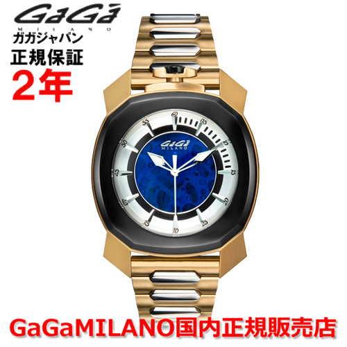 【国内正規品】GaGa MILANO ガガミラノ 自動巻 腕時計 ウォッチ メンズ FRAME_ONE フレームワン 44MM スケルトン 7078.01