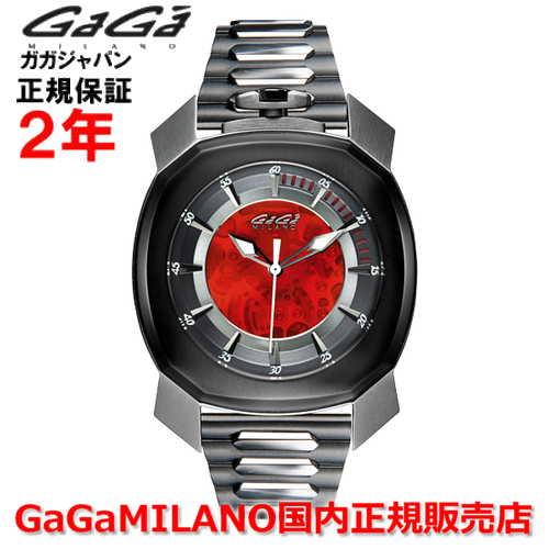 【国内正規品】GaGa MILANO ガガミラノ 自動巻 腕時計 ウォッチ メンズ FRAME_ONE フレームワン 44MM スケルトン 7079.01