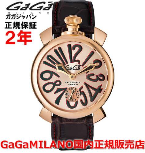 【国内正規品】GaGa MILANO ガガミラノ 腕時計 ウォッチ メンズ MANUALE 48MM マニュアーレ48mm 5011.11S