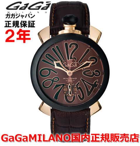 【国内正規品】GaGa MILANO ガガミラノ 腕時計 ウォッチ メンズ MANUALE 48MM マニュアーレ48mm 5014.02S