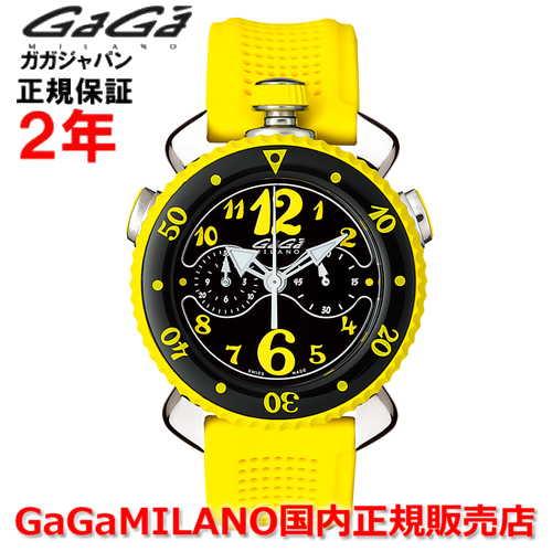 【国内正規品】GaGa MILANO ガガミラノ 腕時計 ウォッチ メンズ レディース CHRONO SPORTS 45MM クロノスポーツ45mm 7010.06