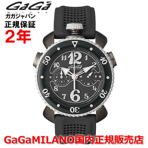 【国内正規品】GaGa MILANO ガガミラノ 腕時計 ウォッチ メンズ レディース CHRONO SPORTS 45MM クロノスポーツ45mm 7013.01