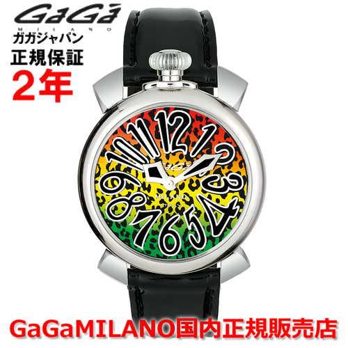 【国内正規品】【限定品】 世界限定500本 GaGa MILANO ガガミラノ 腕時計 ウォッチ レディース MANUALE 40MM マニュアーレ40mm 5020 ART 01