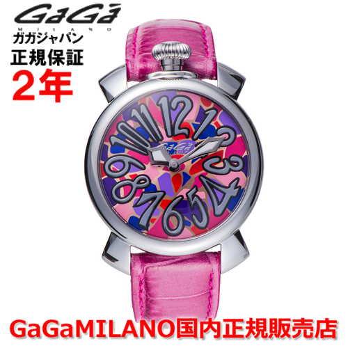 【国内正規品】GaGa MILANO ガガミラノ 腕時計 ウォッチ レディース MANUALE 40MM マニュアーレ40mm 5020 MOS 02