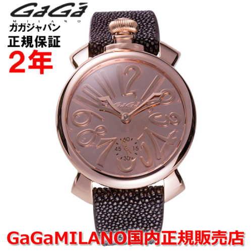 【国内正規品】【限定モデル】世界限定500本GaGa MILANO ガガミラノ 腕時計 ウォッチ メンズ MANUALE 48MM マニュアーレ48mm MIRROR/ミラー 5211.MIR.01S