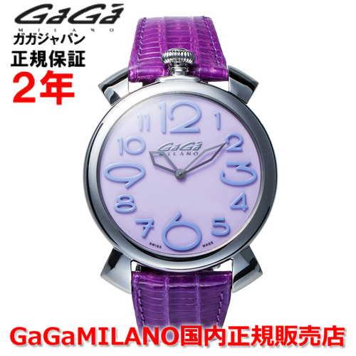 【国内正規品】GaGa MILANO ガガミラノ 腕時計 ウォッチ メンズ レディース MANUALE THIN 46MM マニュアーレシン46mm 5090.10 SWISS MADE/スイスメイド