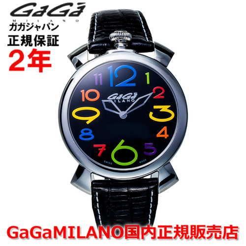 【国内正規品】GaGa MILANO ガガミラノ 腕時計 ウォッチ メンズ レディース MANUALE THIN 46MM マニュアーレシン46mm 5090.12 SWISS MADE/スイスメイド