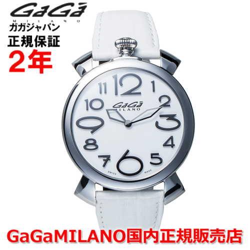 【国内正規品】GaGa MILANO ガガミラノ 腕時計 ウォッチ メンズ レディース MANUALE THIN 46MM マニュアーレシン46mm 5090.15 SWISS MADE/スイスメイド