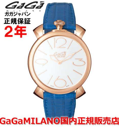 【国内正規品】GaGa MILANO ガガミラノ 腕時計 ウォッチ メンズ レディース MANUALE THIN 46MM マニュアーレシン46mm 5091.01BL SWISS MADE/スイスメイド