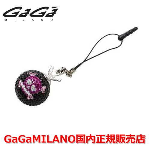 【国内正規品】GaGa MILANO ガガミラノ iPhone Jack/アイフォンジャック/イヤホンジャック Men's Ladies/メンズ レディース GB017-1.3b-26mm SKULL GaGa BALL/スカルガガボール