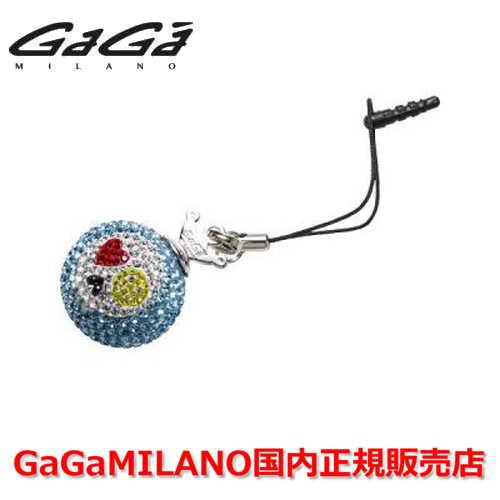 【国内正規品】GaGa MILANO/ガガミラノ iPhone Jack/アイフォンジャック/イヤホンジャック Men's Ladies/メンズ レディース GB019-1.3b-26mm SKULL GaGa BALL/スカルガガボール