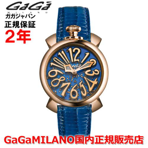 【国内正規品】GaGa MILANO ガガミラノ 腕時計 ウォッチ レディース MANUALE マニュアーレ フローティング 40mm 5021.FL.01