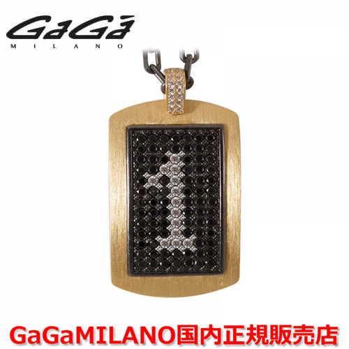 【国内正規品】GaGa MILANO ガガミラノ メンズ レディース MILITARY TAG NECKLACE ミリタリータグ シルバーネックレス MILITARY TAG-1-YG 番号