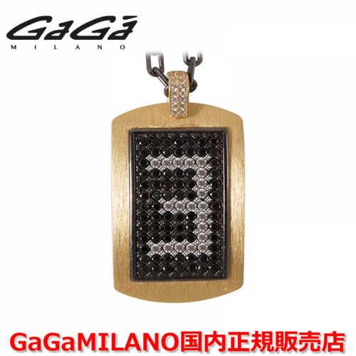 【国内正規品】GaGa MILANO ガガミラノ メンズ レディース MILITARY TAG NECKLACE ミリタリータグ シルバーネックレス MILITARY TAG-3-YG 番号