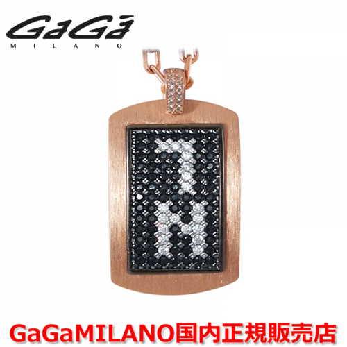 【国内正規品】GaGa MILANO ガガミラノ メンズ レディース MILITARY TAG NECKLACE ミリタリータグ シルバーネックレス MILITARY TAG-7N-PG 番号