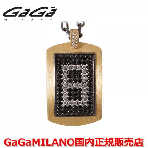 【国内正規品】GaGa MILANO ガガミラノ メンズ レディース MILITARY TAG NECKLACE ミリタリータグ シルバーネックレス MILITARY TAG-8-YG 番号