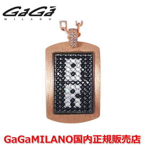 【国内正規品】GaGa MILANO ガガミラノ メンズ レディース MILITARY TAG NECKLACE ミリタリータグ シルバーネックレス MILITARY TAG-8R-PG 番号
