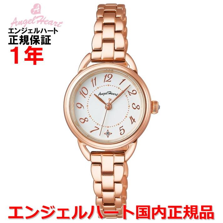 【国内正規品】ANGEL HEART エンジェルハート 腕時計 ソーラー ウォッチ レディース ファーストスター First Star FS25PG