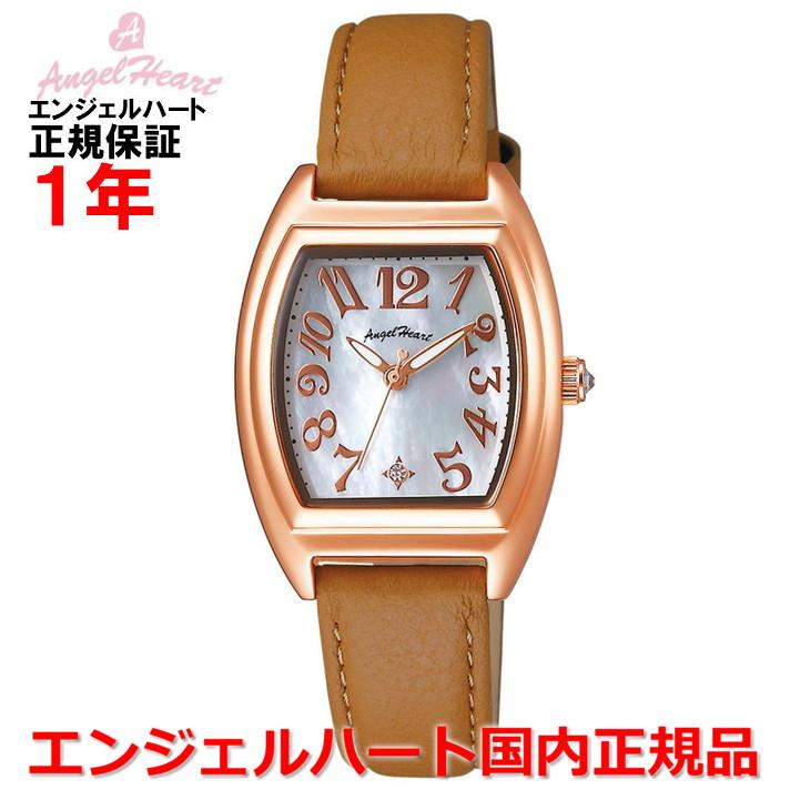 【国内正規品】ANGEL HEART エンジェルハート 腕時計 ソーラー ウォッチ レディース ファーストスター First Star FS26P-BR
