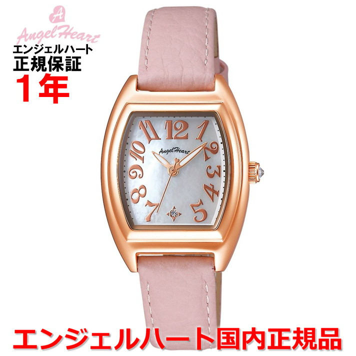 【国内正規品】ANGEL HEART エンジェルハート 腕時計 ソーラー ウォッチ レディース ファーストスター First Star FS26P-PK