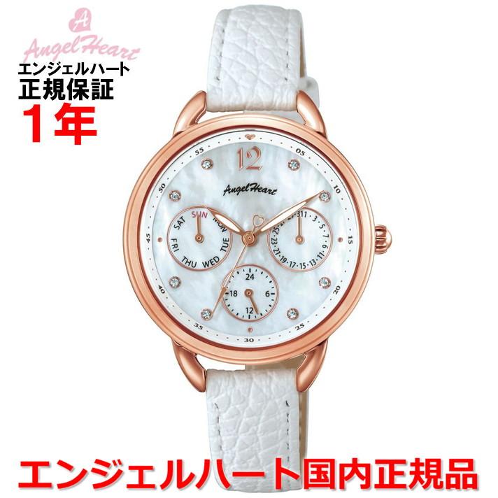【国内正規品】ANGEL HEART エンジェルハート 腕時計 ソーラー ウォッチ レディース リトルハート Little Heart LH33P-WH