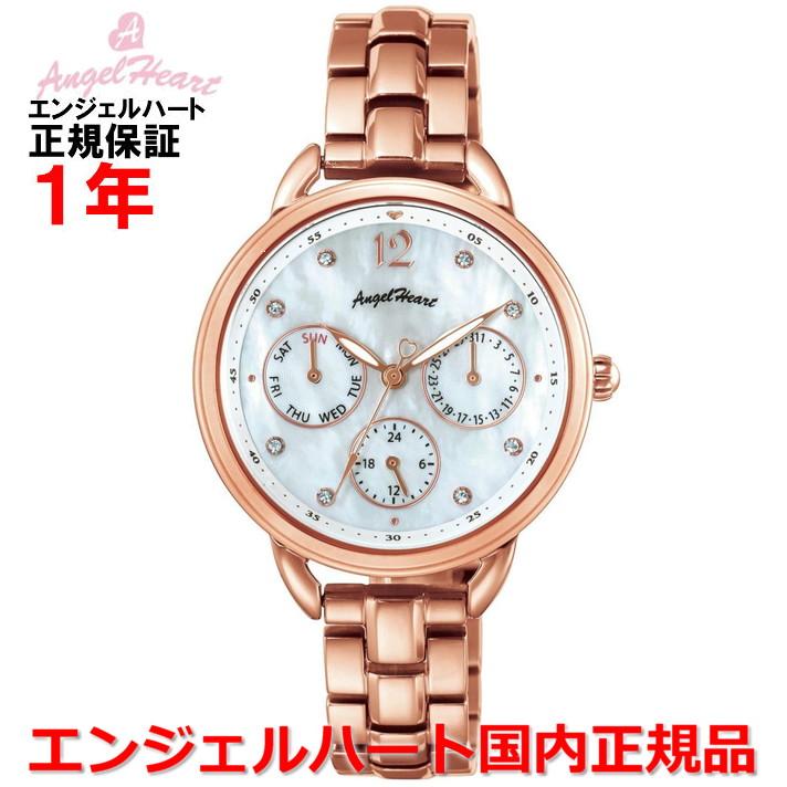 【国内正規品】ANGEL HEART エンジェルハート 腕時計 ソーラー ウォッチ レディース リトルハート Little Heart LH33PG