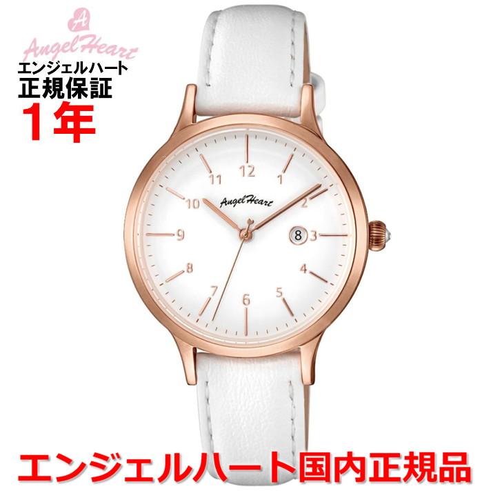 【国内正規品】ANGEL HEART エンジェルハート 腕時計 ソーラー ウォッチ レディース パステルハート Pastel Heart PH32P-WH