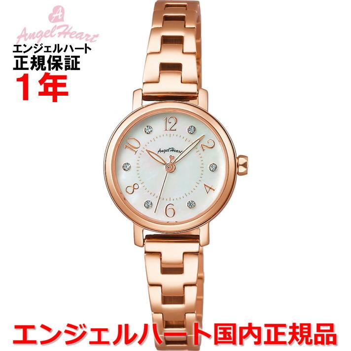 【国内正規品】ANGEL HEART エンジェルハート 腕時計 ソーラー ウォッチ レディース トゥインクルハート Twinkle Heart THN24PG